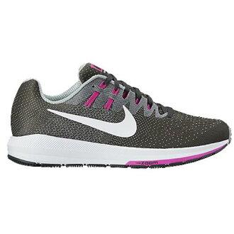 (索取)耐吉女士空氣變焦距鏡頭結構20 Nike Women's Air Zoom Structure 20 Anthracite White Wolf Grey Fire Pink