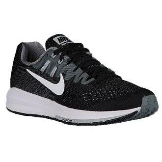 (索取)耐吉女士空氣變焦距鏡頭結構20 Nike Women's Air Zoom Structure 20 Black White Cool Grey Pure Platinum