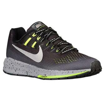 (索取)耐吉女士空氣變焦距鏡頭結構20 Nike Women's Air Zoom Structure 20 Black Metallic Silver Dark Grey Wolf Grey