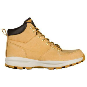 【クーポンで最大2,000円OFF】(取寄)Nike ナイキ メンズ マノア ブーツ Nike Men's Manoa Haystack Haystack Velvet Brown