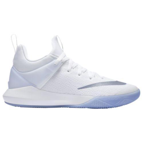 (取寄)Nike ナイキ メンズ ズーム シフト バスケットシューズ スニーカー Nike Men's Zoom Shift White Metallic Silver Wolf Grey