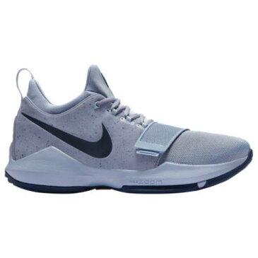 (取寄)Nike ナイキ メンズ スニーカー バッシュ PG 1 バスケットシューズ Nike Men's PG 1 Pure Platinum Midnight Navy University Gold Black