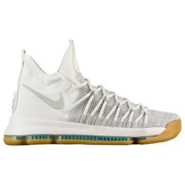 (取寄)Nike ナイキ メンズ スニーカー バッシュ KD 9 エリート バスケットシューズ Nike Men's KD 9 Elite Ivory Pale Grey Sail Gum