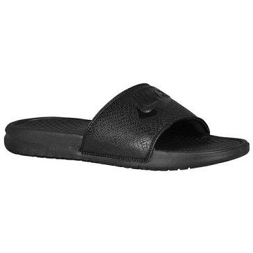 (取寄)NIKE ナイキ サンダル メンズ ベナッシ JDI スライド Nike Men's Benassi JDI Slide Black Black Black 【コンビニ受取対応商品】
