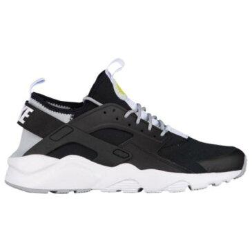 (取寄)Nike ナイキ メンズ エア ハラチ ラン ウルトラ トレーニングシューズ Nike Men's Air Huarache Run Ultra Black White Wolf Grey Bright Cactus