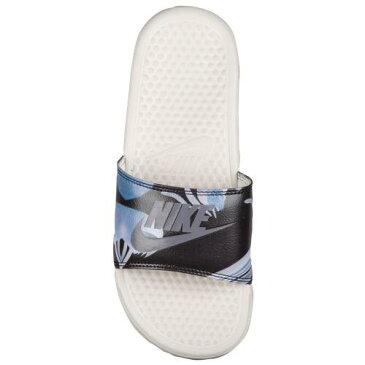 NIKE ナイキ サンダル ベナッシ 柄デザイン スライド Nike Women's Benassi JDI Slide Light Bone Light Carbon