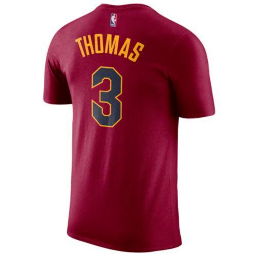 (取寄)ジョーダン メンズ NBA アイザイア トーマス プレーヤー ネーム & ナンバー Tシャツ Jordan Men's NBA Player Name & Number T-Shirt Red