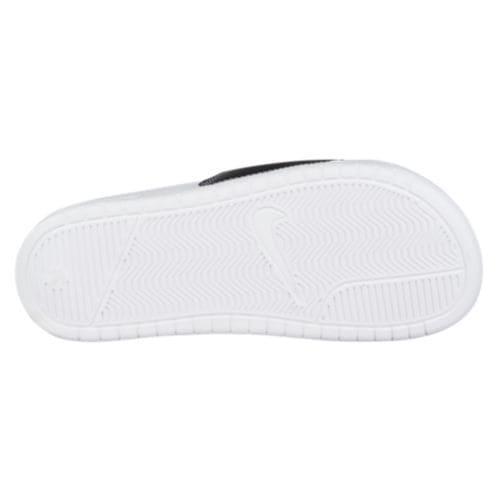 (取寄)ナイキ レディース サンダル ベナッシ JDI スライド Nike Women's Benassi JDI Slide White Pure Platinum Black