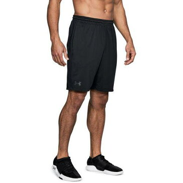 (取寄)アンダーアーマー メンズ MK1 ショーツ Under Armour Men's MK1 Shorts Black Black Stealth Grey