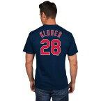 (取寄)ジョーダン メンズ マジェスティック MLB ネーム アンド ナンバー Tシャツ コーリー・クルーバー Jordan Men's Majestic MLB Name and Number T-Shirt Navy