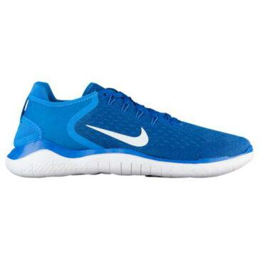 (取寄)ナイキ メンズ ランニングシューズ フリー RN 2018 Nike Men's Free RN 2018 Team Royal White Photo Blue
