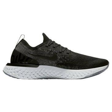 (取寄)ナイキ レディース エピック リアクト フライニット Nike Women's Epic React Flyknit Black Black Dark Grey Pure Platinum