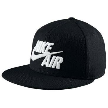 NIKE ナイキ ロゴ キャップ 帽子 ブラック エア トゥルー スナップバック ハット Nike Men's Air True Snapback Hat Black White