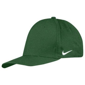 (取寄)ナイキ メンズ チーム ドライフィット スウッシュ フレックス キャップ Nike Men's Team Dri-Fit Swoosh Flex Cap Gorge Green
