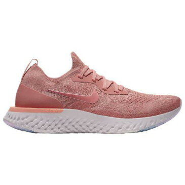 (取寄)ナイキ レディース エピック リアクト フライニット Nike Women's Epic React Flyknit Rust Pink Pink Tint Tropical Pink Barely Rose