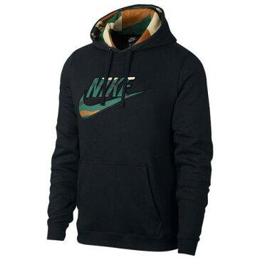 (取寄)ナイキ メンズ カモ プルオーバー フーディ Nike Men's Camo Pullover Hoodie Black Camo