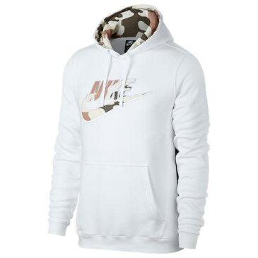 (取寄)ナイキ メンズ カモ プルオーバー フーディ Nike Men's Camo Pullover Hoodie White Camo