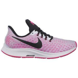 (取寄)ナイキ レディース エア ズーム ペガサス 35 Nike Women's Air Zoom Pegasus 35 Half Blue Black Hyper Pink White