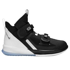 NIKE ナイキ メンズ バッシュ レブロン ジェームス バスケットシューズ ソルジャー 13 SFG バスケットボール ブラック NBA Nike Men's LeBron Soldier XIII SFG Black White