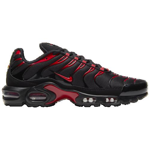 メンズ靴, スニーカー () Nike Mens Air Max Plus University Red Black