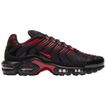 (取寄)ナイキ メンズ エアマックス プラス ブラック Nike Men's Air Max Plus Metallic Gold University Red Black