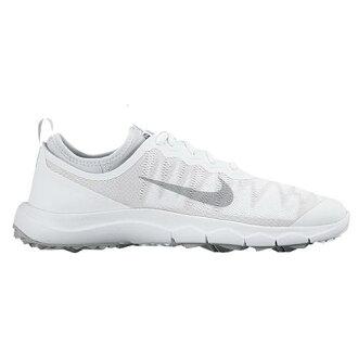 (索取)NIKE耐吉女士FI百慕大高爾夫球鞋Nike Women's FI Bermuda Golf Shoe White Wolf Grey