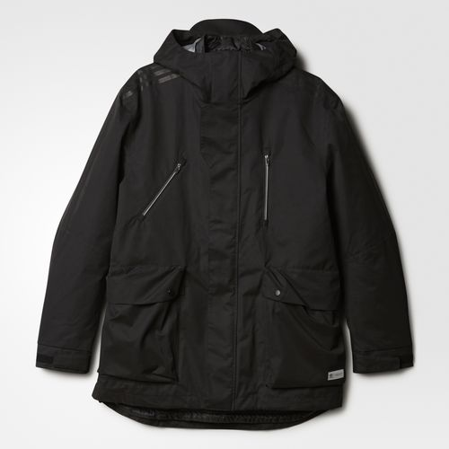 (取寄)アディダス オリジナルス メンズ BLDR プリマロフト 3-in パーカー adidas originals Men's BLDR Primaloft 3-in Parka Black