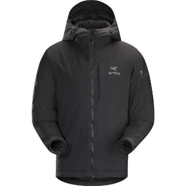 (取寄)アークテリクス メンズ カッパ フーデッド インサレーテッド ジャケット Arc'teryx Men's Kappa Hooded Insulated Jacket Black 【コンビニ受取対応商品】