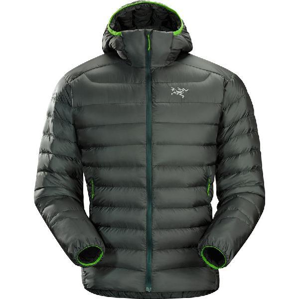 (取寄)アークテリクス メンズ セリウム LT フーデッド ダウン ジャケット Arc'teryx Men's Cerium LT Hooded Down Jacket Nautic Grey 【コンビニ受取対応商品】