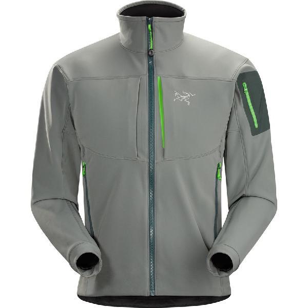 (取寄)アークテリクス メンズ ガマー MX ソフトシェル ジャケット Arc'teryx Men's Gamma MX Softshell Jacket Nautic Grey 【コンビニ受取対応商品】