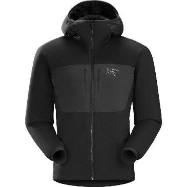 (取寄)アークテリクス メンズ プロトン AR フーデッド インサレーテッド ジャケット Arc'teryx Men's Proton AR Hooded Insulated Jacket Black