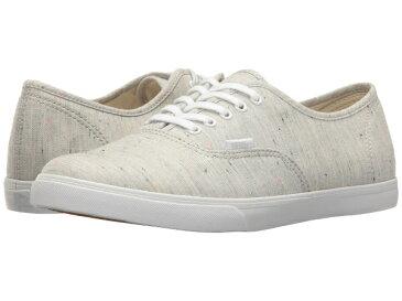 Vans(バンズ) スニーカー オーセンティック ロー プロ ユニセックス メンズ レディース Vans Authentic Lo Pro (Speckle Jersey) Gray/True White あす楽対応 【コンビニ受取対応商品】