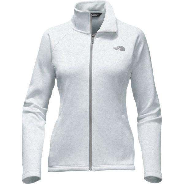 (取寄)ノースフェイス レディース アガヴェ フリース ジャケット The North Face Women Agave Fleece Jacket Tnf Light Grey Heather/Mid Grey