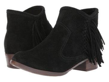 (取寄)ミネトンカ レディース ブレーク ブーツ Minnetonka Women Blake Boot Black Suede