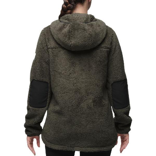 (取寄)ノースフェイス レディース Campshire フーデッド プルオーバー フリース ジャケット The North Face Women Campshire Hooded Pullover Fleece Jacket Peyote Beige