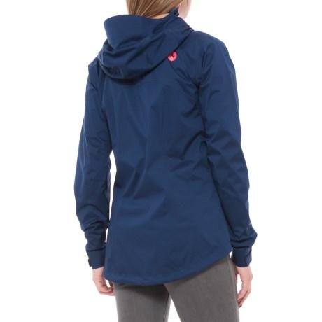 (取寄)マーモット レディース アジロマー ジャケット Marmot Women Asilomar Jacket Artic Navy/Neon Coral
