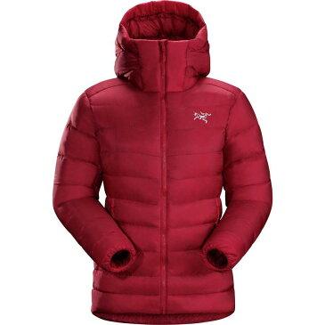 (取寄)アークテリクス レディース セリウム SV フーデッド ダウン ジャケット Arc'teryx Women Cerium SV Hooded Down Jacket Pomegranate