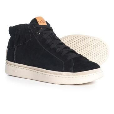 (取寄)アグ メンズ カリ ハイ フリンジ スニーカー UGG Australia Men's Cali High Fringe Sneakers Black