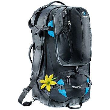 (取寄)ドイター ユニセックス トラベラー SL 60+10L バックパック Deuter Men's Traveller SL 60+10L Backpack Black/Turquoise