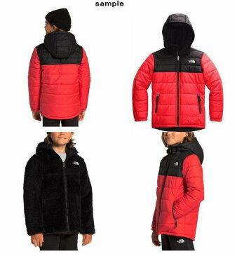 (取寄)ノースフェイス ボーイズ リバーシブル マウント チンボラソ パーカー The North Face Boys Reversible Mount Chimborazo Hoodie TNF Red/TNF Black