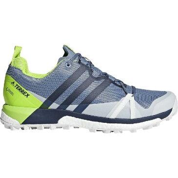 (取寄)アディダス メンズ アウトドア テレックス アグラヴィック Gtx シューズ Adidas Men's Outdoor Terrex Agravic GTX Shoe Raw Steel/Collegiate Navy/Solar Slime