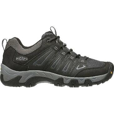 (取寄)キーン メンズ オークリッジ ハイキングシューズ KEEN Men's Oakridge Hiking Shoe Black/Gargoyle