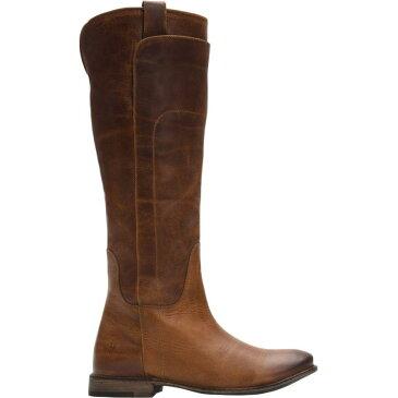 (取寄)フライ レディース ペイジ トール ライディング ブーツ Frye Women Paige Tall Riding Boot Dark Brown Washed Antique Pull Up