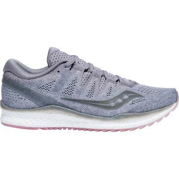 (取寄)サッカニー レディース フリーダム アイエスオー 2 ランニングシューズ Saucony Women Freedom ISO 2 Running Shoe Grey/Peach