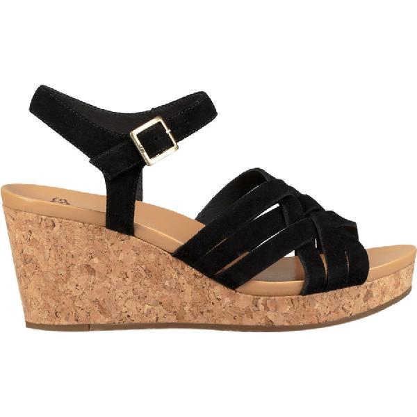 (取寄)アグ レディース ユーマ サンダル UGG Women Uma Sandal Black