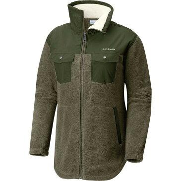 (取寄)コロンビア レディース ベントン スプリングス オーバーレイ フルジップ フリース ジャケット Columbia Women Benton Springs Overlay Full-Zip Fleece Jacket Sage/Nori