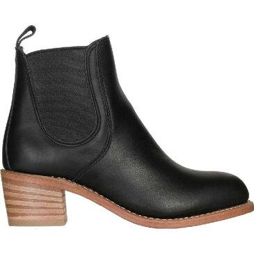 (取寄)レッドウィング レディース ヘリテイジ ハリエット ブーツ Red Wing Women Heritage Harriet Boot Black Boundary Leather