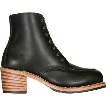 (取寄)レッドウィング レディース ヘリテイジ クララ ブーツ Red Wing Women Heritage Clara Boot Black Boundary Leather