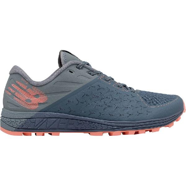 (取寄)ニューバランス レディース バジー サミット v2トレイル ランニングシューズ New Balance Women Vazee Summit v2 Trail Running Shoe Deep Porcelain Blue/Bleached Sunrise/Metallic Silver