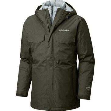 【クーポンで最大2000円OFF】(取寄)コロンビア メンズ カシュマン クレスト インターチェンジ ジャケット Columbia Men's Cushman Crest Interchange Jacket Peatmoss Heather